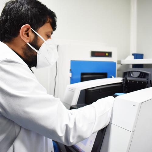 RT PCR Test running in Indiranagar Bangalore